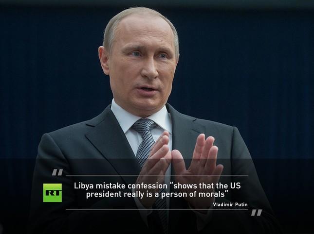 Màn hỏi đáp sắc sảo và ấn tượng của ông Putin - ảnh 2