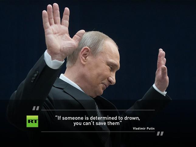 Màn hỏi đáp sắc sảo và ấn tượng của ông Putin - ảnh 3