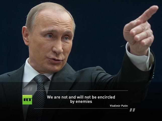 Màn hỏi đáp sắc sảo và ấn tượng của ông Putin - ảnh 5