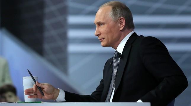 Màn hỏi đáp sắc sảo và ấn tượng của ông Putin - ảnh 1