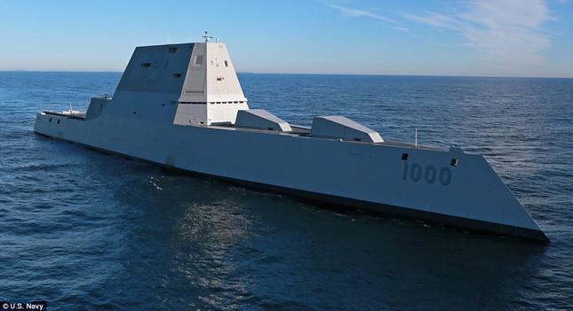 Khu trục USS Zumwalt của Mỹ gây phiền phức vì quá tàng hình - ảnh 4