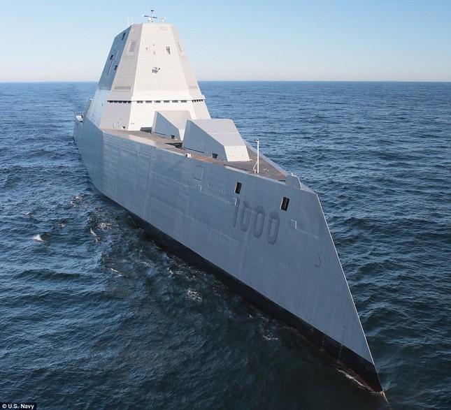 Khu trục USS Zumwalt của Mỹ gây phiền phức vì quá tàng hình - ảnh 7