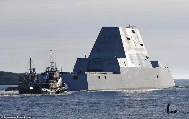Khu trục USS Zumwalt của Mỹ gây phiền phức vì quá tàng hình - ảnh 5
