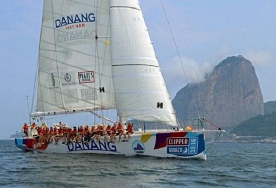 Lãnh đạo Đà Nẵng gửi lời động viên đoàn thuyền Clipper gặp nạn - ảnh 1