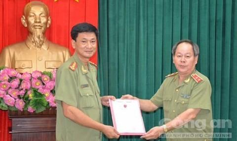 Đại tá Phạm Ngọc Khương làm Phó giám đốc Công an TP.HCM - ảnh 1