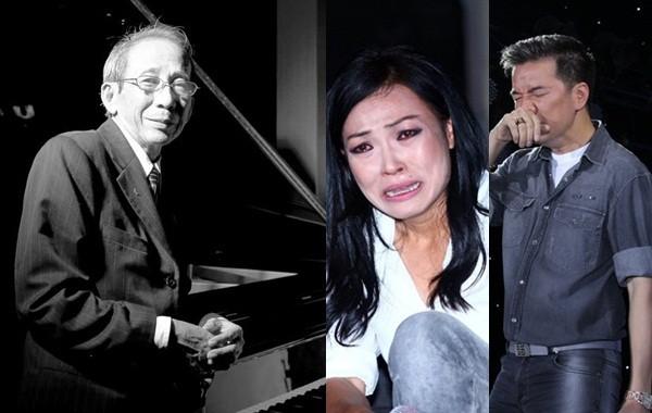 Mr Đàm, Phương Thanh nghẹn ngào khóc thương nhạc sĩ Nguyễn Ánh 9 - ảnh 1