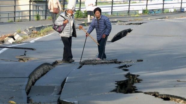 Trận động đất thứ hai tiếp tục tấn công Nhật Bản - ảnh 1