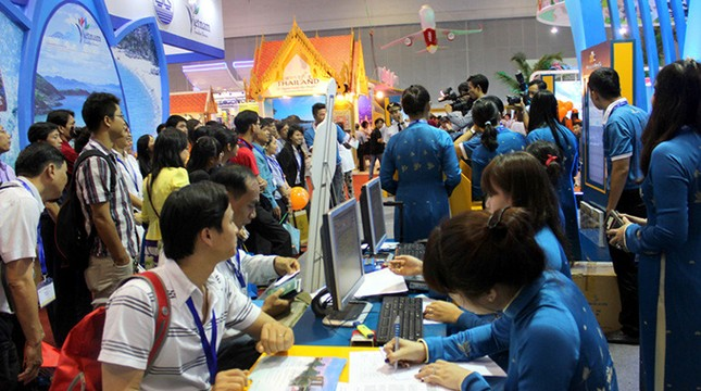 Chuẩn bị khai mạc hội chợ Du lịch Quốc tế TP.HCM 2016 - ảnh 1