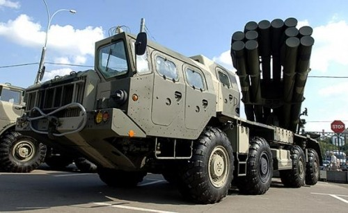 Video: Tornado-S Nga có sức mạnh chỉ đứng sau bom nguyên tử - ảnh 1