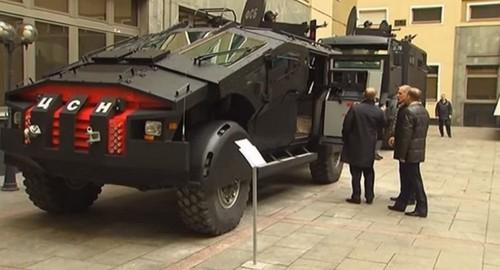 Video: Nga triển khai xe 'người dơi' chống khủng bố ở Dagestan - ảnh 1