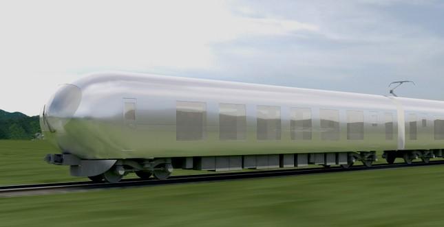 Tàu cao tốc 'tàng hình' đầu tiên trên thế giới - ảnh 1