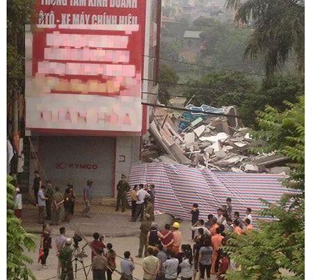 Cao Bằng: Sập nhà 5 tầng khiến 6 người thương vong - ảnh 1