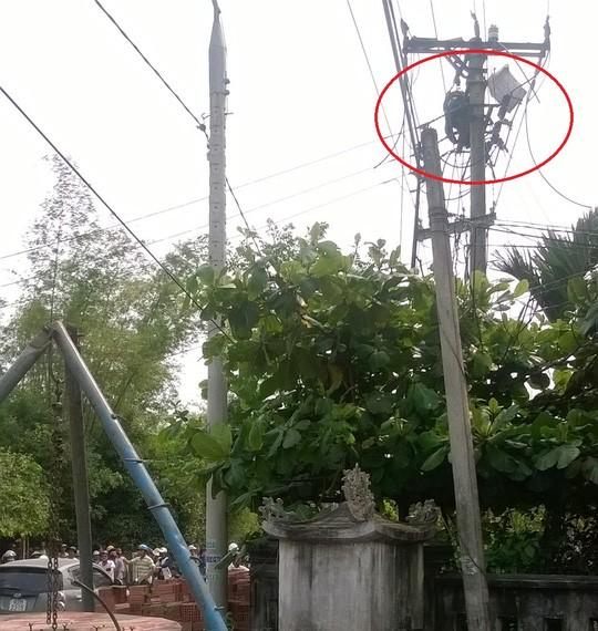 Cúp điện nhưng một công nhân vẫn bị điện giật chết - ảnh 1
