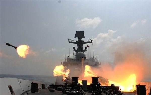 Trung Quốc tập trận bí mật trên Biển Đông? - ảnh 1