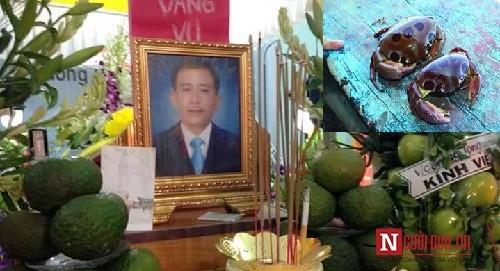 Ngư dân Đà Nẵng mất mạng vì ăn nhầm phải 'cua mặt quỷ' - ảnh 1