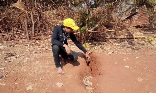 Gia Lai: Xuất hiện vết nứt bất thường gây hoang mang - ảnh 2