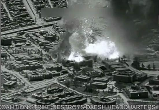 Mỹ không kích phá hủy trung tâm nghiên cứu vũ khí hóa học của IS - ảnh 1