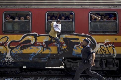 Chùm ảnh hành trình của người tị nạn đoạt giải Pulitzer 2016 - ảnh 10