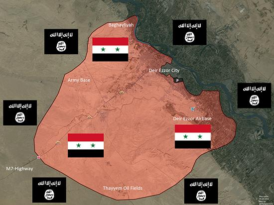Tình hình Syria: IS đánh chiếm quận chiến lược ở Deir Ezzor - ảnh 2
