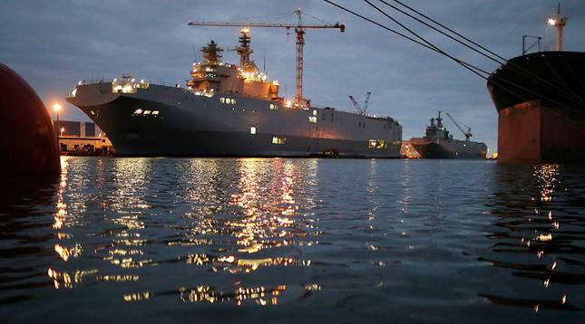 Ai Cập muốn đặt hàng Nga thiết bị điện tử cho tàu sân bay Mistral - ảnh 1