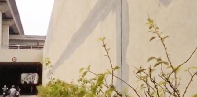 'Tận mục' hầm chui 551 tỷ vừa khánh thành đã sửa chữa nham nhở - ảnh 6