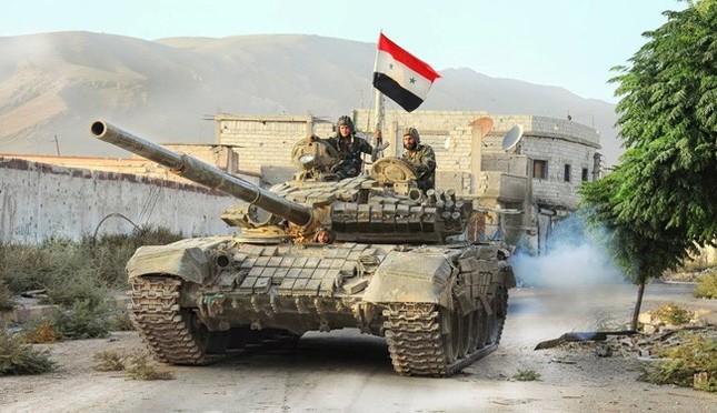 Quân Assad tiêu diệt 75 phiến quân IS, giải phóng quận Al-Sina'a  - ảnh 1