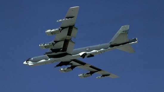 Mỹ triển khai B-52 tới Iraq không kích khủng bố IS - ảnh 1