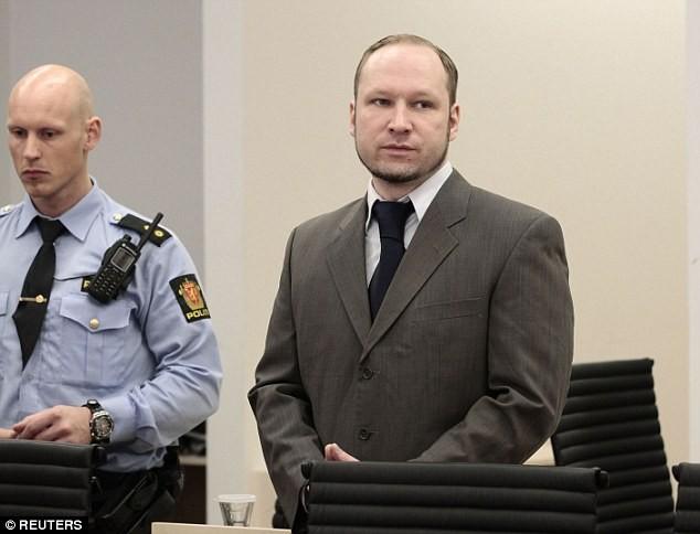 Kẻ thảm sát Na Uy thắng kiện chính phủ vì ở tù không thoải mái - ảnh 1