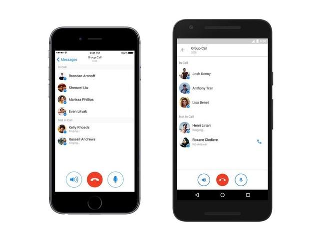Facebook Messenger cho gọi điện nhóm 50 người một lúc - ảnh 1
