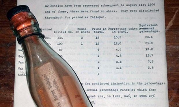 Lá thư trong chai được tìm thấy sau hơn 108 năm - ảnh 1
