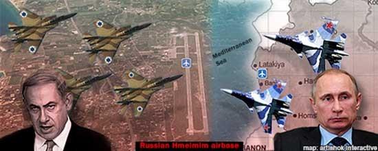 Chiến đấu cơ Nga, Israel đụng độ trên không phận Syria - ảnh 1