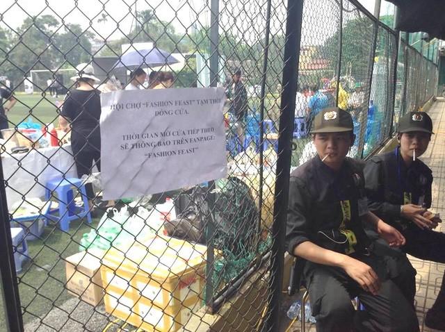 Hội chợ container đình đám đang bị công an 'sờ gáy' - ảnh 1