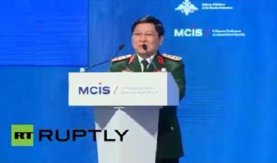 Đại tướng Ngô Xuân Lịch khẳng định chính sách Quốc phòng Việt Nam - ảnh 1