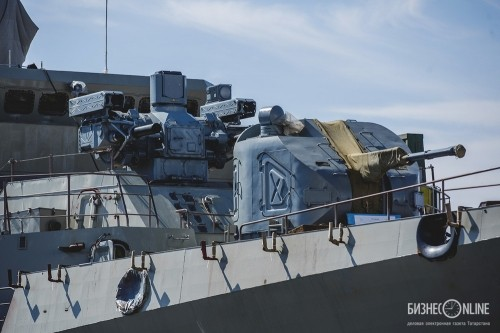 Toàn cảnh lễ hạ thủy tàu Gepard thứ ba cho Hải quân Việt Nam - ảnh 2