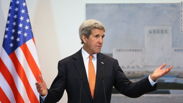 Ngoại trưởng Kerry: Việt Nam cởi mở 'phi thường' sau chiến tranh - ảnh 1