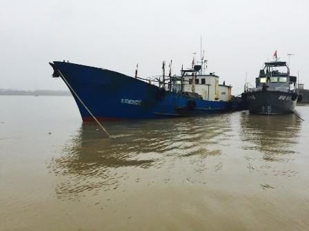 Hành trình truy bắt tàu Trung Quốc mang dấu hiệu lạ - ảnh 1