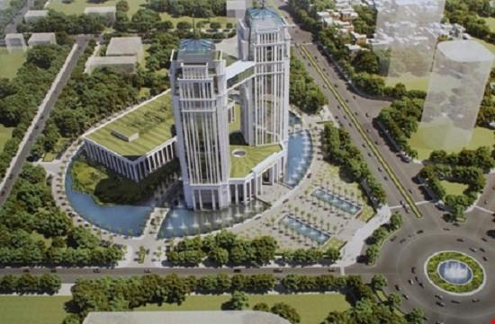 Không chấp thuận xây khu hành chính hơn 2.000 tỷ ở Nghệ An - ảnh 1