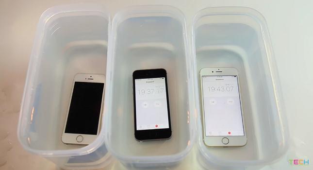 Thử ngâm nước iPhone SE và cái kết bất ngờ - ảnh 1