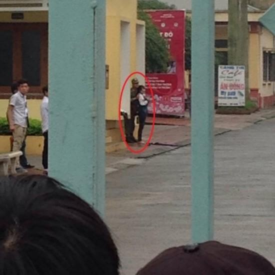 Giải cứu nữ sinh CĐ Y Thái Bình bị tưới xăng, dọa thiêu sống - ảnh 1