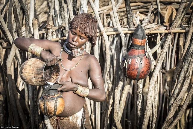 Đến Ethiopia xem bộ lạc kì dị nhất thế giới - ảnh 14