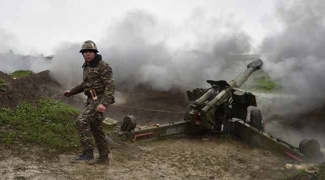 Azerbaijan cảnh báo sẽ phóng tên lửa vào thủ phủ Nagorno-Karabakh - ảnh 1