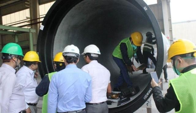 Nhà thầu hé lộ hậu trường đấu thầu đường ống nước sông Đà 2 - ảnh 1