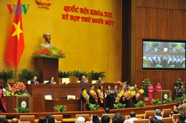 Danh sách lãnh đạo Quốc hội và các ủy viên Thường vụ Quốc hội mới - ảnh 1