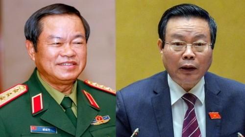 Đại tướng Đỗ Bá Tỵ đắc cử vị trí Phó Chủ tịch Quốc hội - ảnh 1
