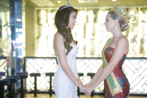 Vì sao Lan Khuê chưa nhận lời tham gia Hoa hậu Hòa bình Quốc tế? - ảnh 3