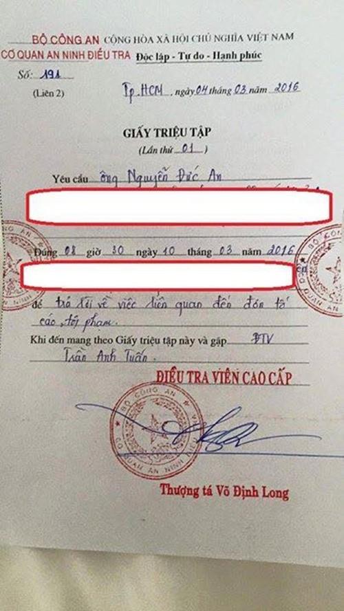 Phan Như Thảo tố kẻ dùng người giả danh công an hại vợ chồng cô - ảnh 6