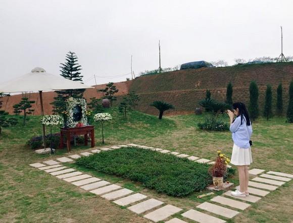 Chi Pu tới viếng mộ Trần Lập và Thanh Tùng tại Phú Thọ - ảnh 4