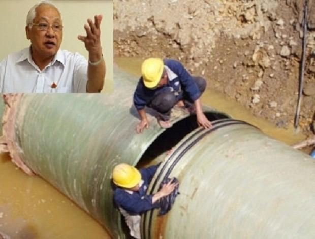 Nên tổ chức đấu thầu lại vụ đường ống nước sông Đà 2 - ảnh 1