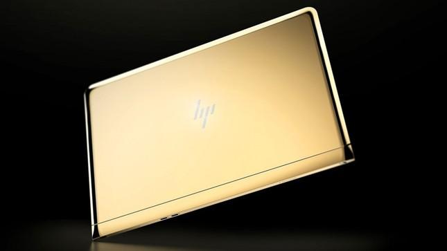 Ngắm 'tuyệt tác' laptop siêu mỏng dát vàng 14K của HP - ảnh 7