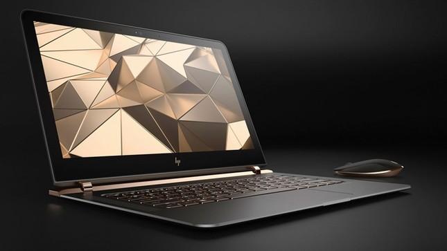 Ngắm 'tuyệt tác' laptop siêu mỏng dát vàng 14K của HP - ảnh 2
